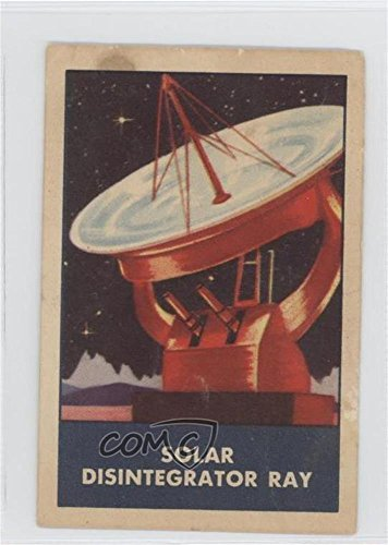 (Solar Disintegrator Ray COMC REVIEWED Poor to Fair (Trading Card) 1953 Chex Space Patrol Rockets, Jets, and Weapons - F280-3 #SDRA)