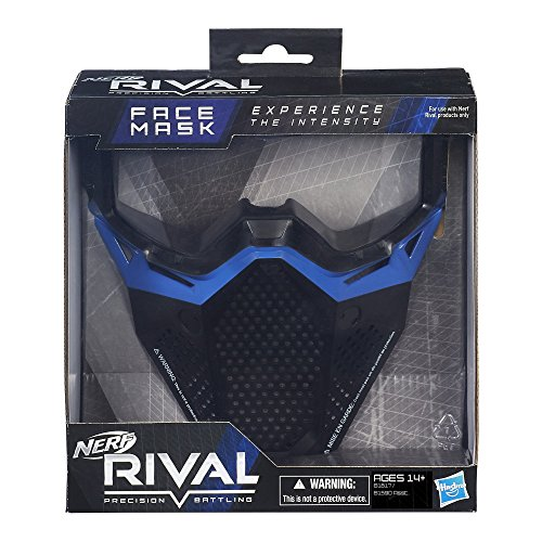 51qt 6PN92L - Nerf Rival Face Mask (Blue)