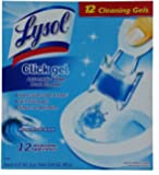12 Pack Lysol Click Gel Ocean Fresh Scent Automatic Toilet Bowl Cleaner Cleaning Gels NEW