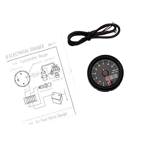 Amazon.com: Flameer 2 Inch Car Auto Tachometer LED Gauge ... on