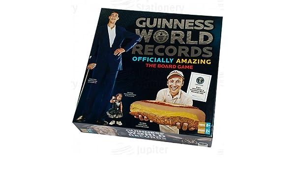 Guiness World Records juego de mesa: Amazon.es: Oficina y papelería