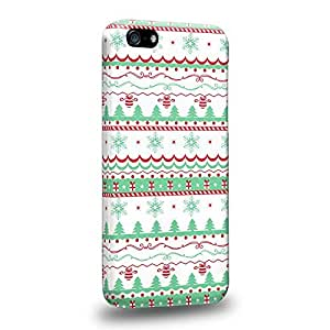 Diy iphone 5 5s case The most popular Art Pink on White Fair Isie Winter Prints Pattern Protective Snap-on Hard Back Case Cover for Apple iPhone 5 5S