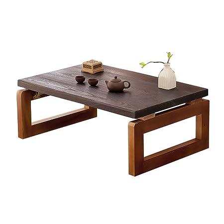 Kang Mesa de Tatami Mesa de té Mesa de Ventana de Madera Mesa de ...