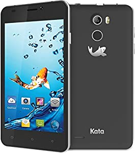 Kata V4 - 4.5-inch IPS Quad Core International Unlocked Smartphone Android 5.1 - Dark Grey - Super Slim HD 1.3 GHz Dual Sim Card GSM 8MP Camera