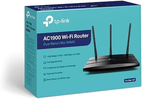 TPLINK AC1900 Wireless MU-MIMO Wi-Fi AC1900 Wireless MU-MIMO ...