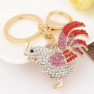 Amazon.com: Gallo gallo moda cute Accesories Crystal Purse ...