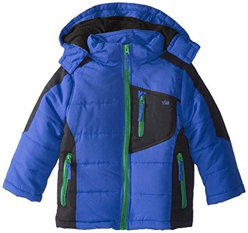 Jacket YMI Royal with Boys' Block Detachable Color Bubble Hood rrfIq