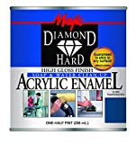 Majic Paints 8-1505-4 Diamond Hard Acrylic Enamel High Gloss Paint, Half Pint/8-Ounce, Safety Blue