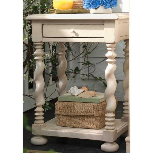 Paula Deen Home Sweet Tea Side Table, Linen
