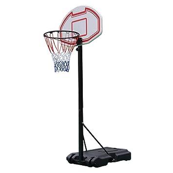 SUON Canasta De Baloncesto Altura Ajustable 155-260cm ...