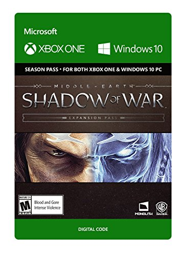 Middle Earth  Shadow Of War  Expansion Pass   Xbox One  Digital Code