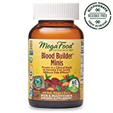 Best Iron Pills - MegaFood - Blood Builder Minis, Energy Boosting Iron Review