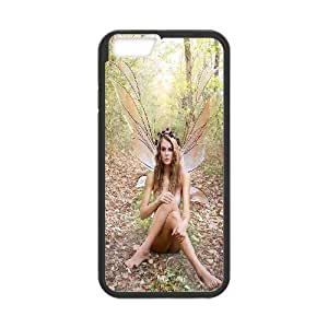 Iphone 6 Plus Case Fairy Sexy Girl Flesh in Forest Black Yearinspace YS366895