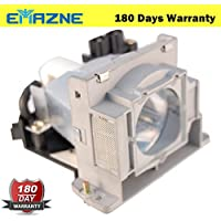 Emazne VLT-HC910LP Projector Replacement Compatible Lamp With Housing For Mitsubishi HC100 Mitsubishi HC1100 Mitsubishi HC1100U Mitsubishi HC1500 HC1600 HC1600U HC910U HC3100U 180 Days Warranty