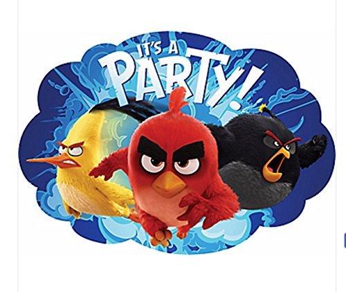 Angry Birds Movie Invitations (Party Invitations Angry Birds)