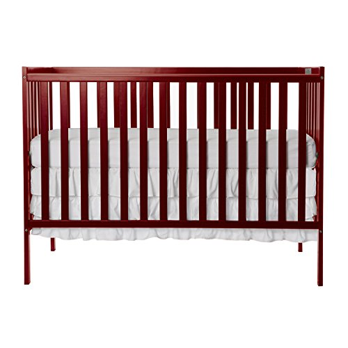 Dream On Me Synergy 5-in-1 Convertible, Crib, Cherry ()