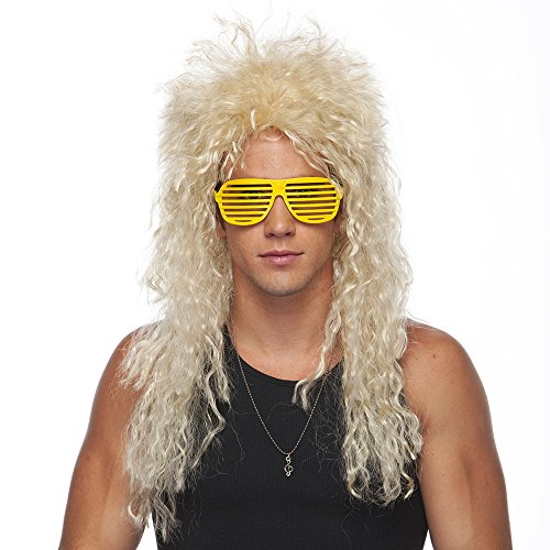 Characters Unisex Heavy Metal Wig Standard (Unisex Long Rocker Wig)