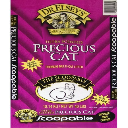 Precious Cat Dr. Elsey's 40 Pound Ultra Scented