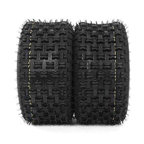 Tires 400ex Honda (Set of 2 Sport ATV Tires Rear 20X10-9 P336 4PR for HONDA TRX 300EX 400EX 400X 450R)