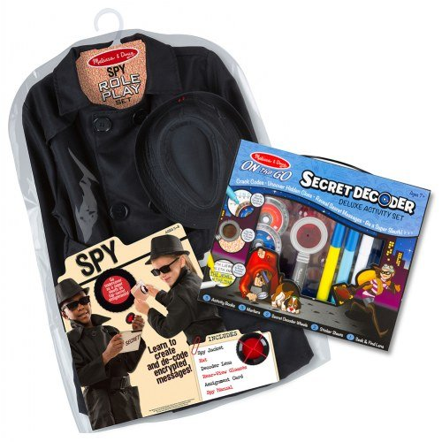 Melissa & Doug Spy Role Play & Activity Set ()