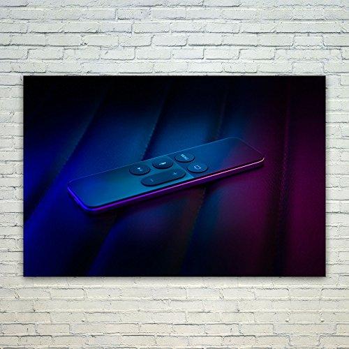 Westlake Art Poster Print Wall Art - Blue Purple - Modern Pi