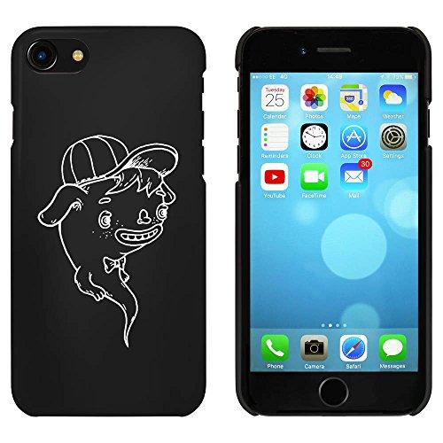 Schwarz 'Geist' Hülle für iPhone 7 (MC00062107)