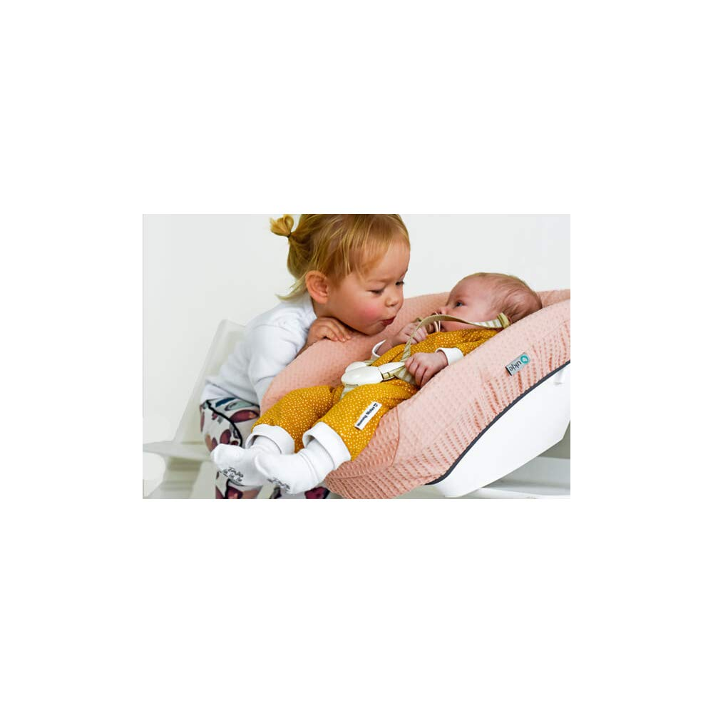 Cover Stokke Tripp Trapp Newborn Set /♥ Black White Crosses