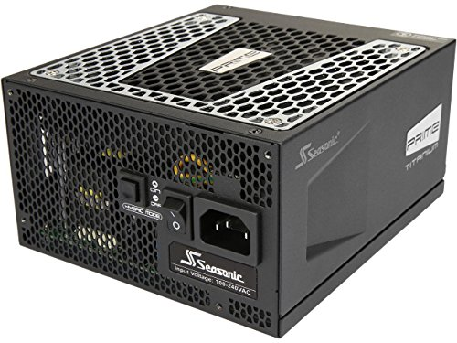 Seasonic PRIME Ultra 850W 80 PLUS Titanium Power Supply, Full Modular, 135mm FDB Fan w/Hybrid Fan Control, ATX12V & EPS12V, Poweron-Self Tester,- 12 yr Warranty (Prima Power Supply)