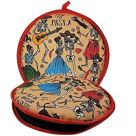 Amazon.com: Bolsa de tela aislante de tortilla para danza de ...