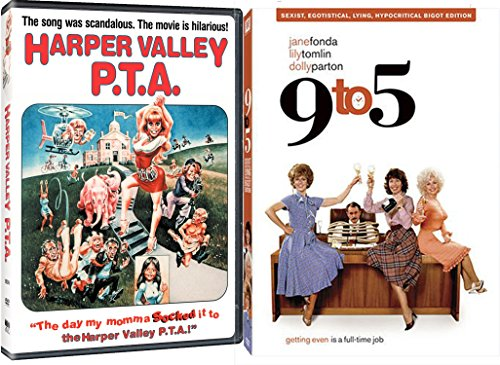 9 to 5 + Harper Valley PTA DVD Comedy 80's Satire Set with Dolly Parton