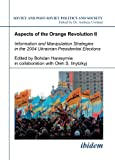 Aspects of the Orange Revolution, Bredies, Ingmar and D'Anieri, Paul J., 3898216993