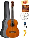 Best Nylon String Guitars - Yamaha C40 Full-Size Classical Guitar Bundle with Gig Review
