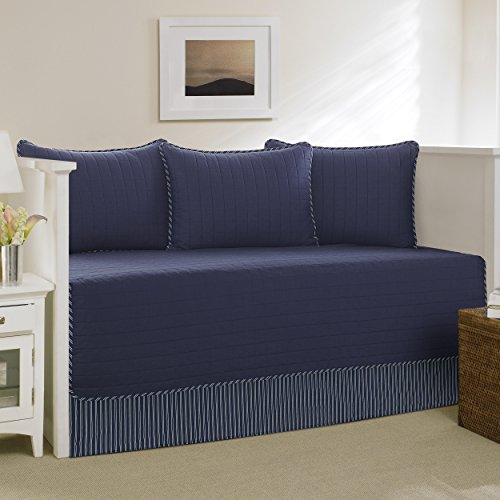 Nautica Maywood 5-Piece Daybed Cover Set, Twin, Navy