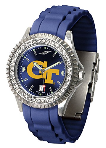 Georgia Tech Yellow Jackets Sparkle Women's Watch by SunTime