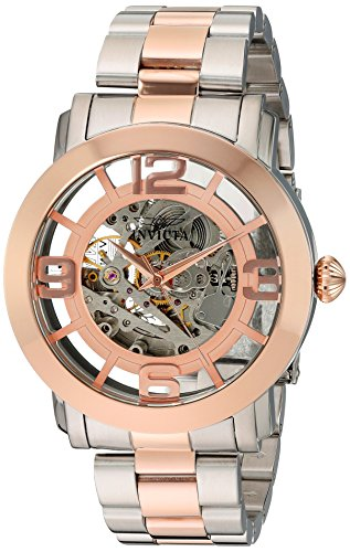 (Invicta Men's 'Vintage' Stainless Steel Automatic Watch, Color:Two Tone (Model: 22584) )