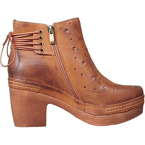 b3819d26feb7 Antelope Women s 996 Leather Cut   Lace Clog Bottom Bootie