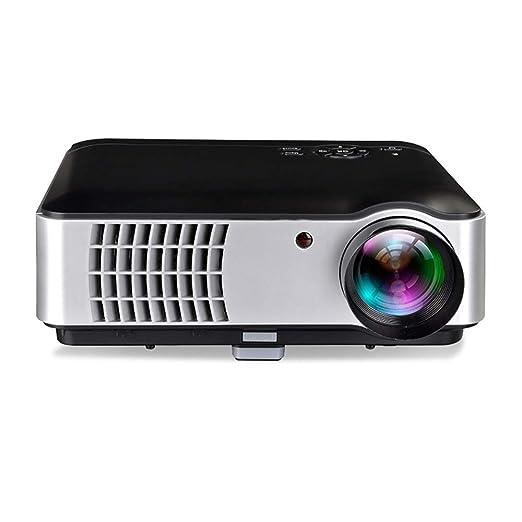 Proyector de video, mini proyector 3D 1080P con lámpara de 20000 ...