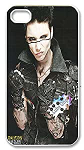 Luke Ong Phones case for Black Veil Brides,Customized Hard Case Dragon for iphone4 4s.