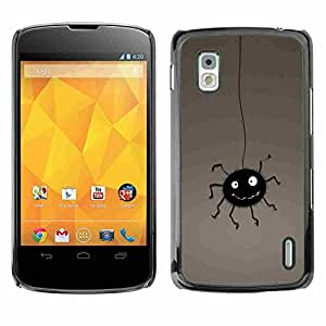 Shell-Star ( Funny Bug ) Fundas Cover Cubre Hard Case Cover para LG Google NEXUS 4 / Mako / E960