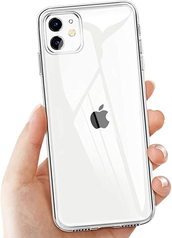 82 opinioni per laxikoo Custodia iPhone 11, Cover iPhone 11 Trasparente TPU Morbido Silicone