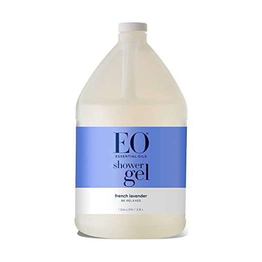 EO Soothing Botanical Shower Gel Refill, French Lavender, 128 Ounce