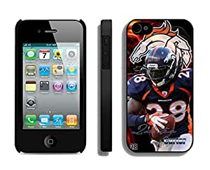 NFL&Denver Broncos-Quinton Carter_iPhone 4 4S Case Gift Holiday Christmas Gifts cell phone cases clear phone cases protectivefashion cell phone cases HLNA605585894