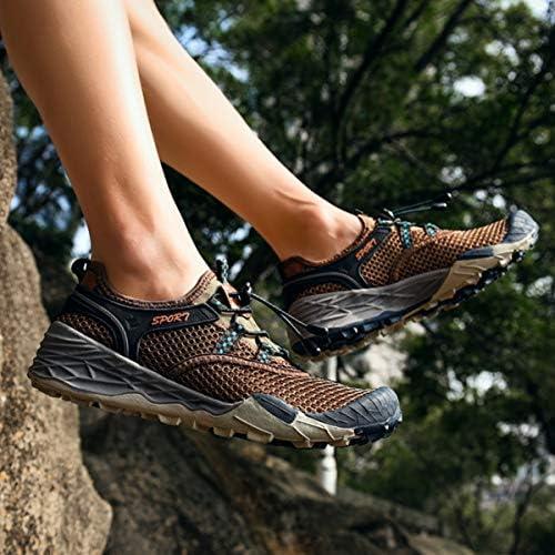 [つるかめ] トレッキングシューズ メンズ 登山靴 ハイキングシューズ ウォーキングシューズ アウトドアススニーカー スポーツ ランニングシューズ ウォーターシューズ 防滑 防臭