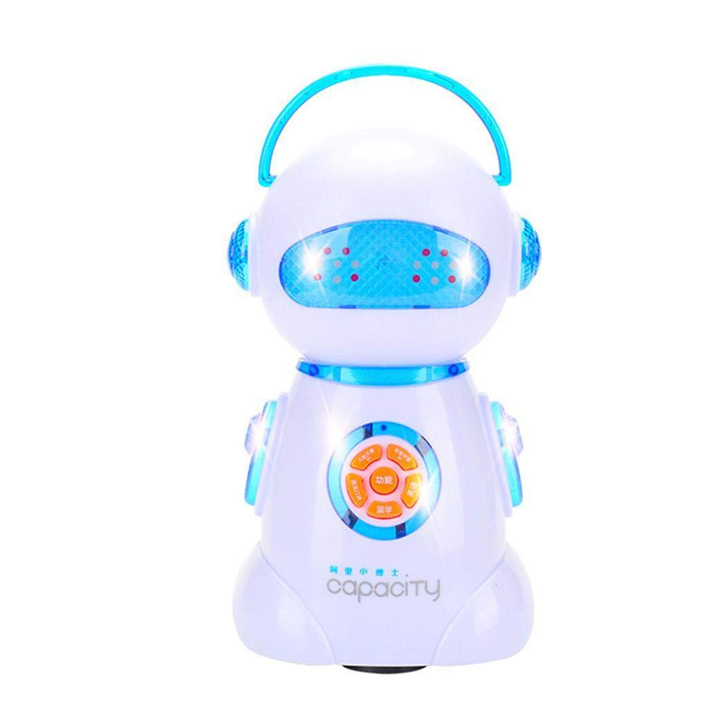ThinIce Early Story Machine, Cute Baby 360 Degree Rotation Early Story Machine Early Learning Toys, Good for Chinese Learning