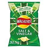 Walkers Crisps Salt and Vinegar x 32 1040g
