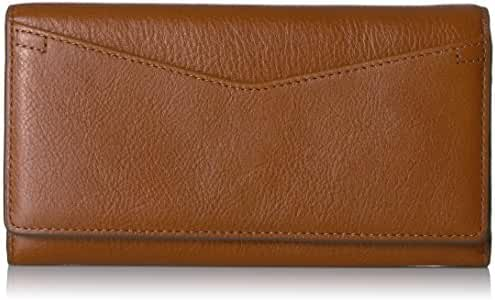 Fossil Caroline Continental Flap Wallet Brown Wallet