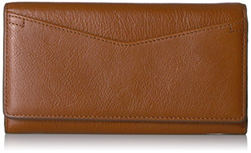 Fossil Caroline Continental Flap Wallet Brown Wallet by Fossil