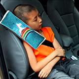 MULOVE car seat belt pad for children, cartoon design, seat belt protector, seat belt, seat belt pad, shoulder cushion, car shoulder pad, for children and adults