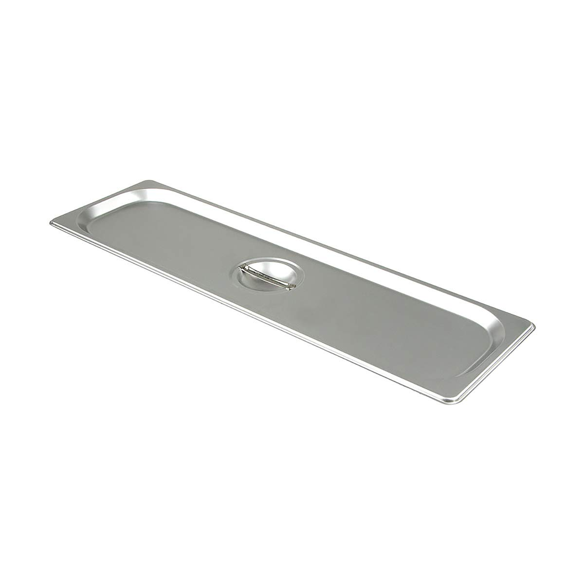 Update International STP-50LSC S/Steam Table Pan Cover, Half Size Long Pan, 18-8 Stainless Steel AISI-304