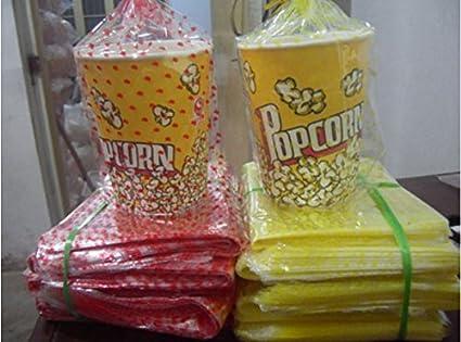 Bolsas de palomitas bolsas bolsas transparentes bolsas de ...